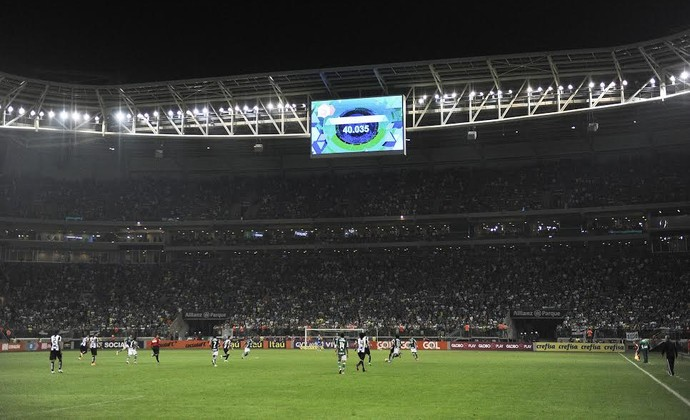 Resultado de imagem para Arena Palmeiras lotada  2017