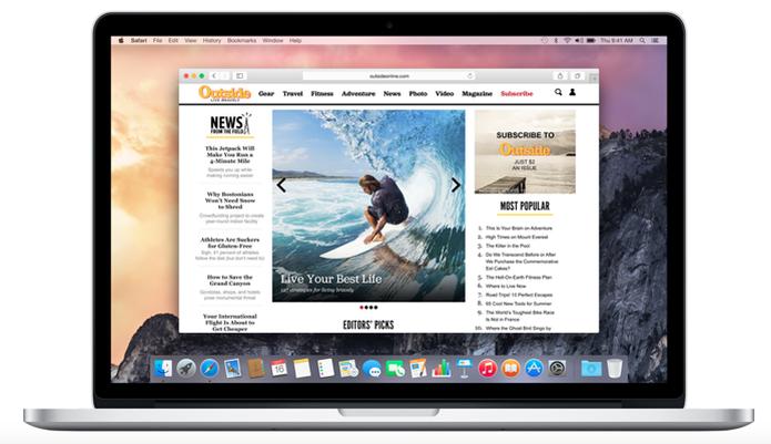Veja o que muda no Safari com o OS X El Capitan (Foto: Divulgação) (Foto: Veja o que muda no Safari com o OS X El Capitan (Foto: Divulgação))