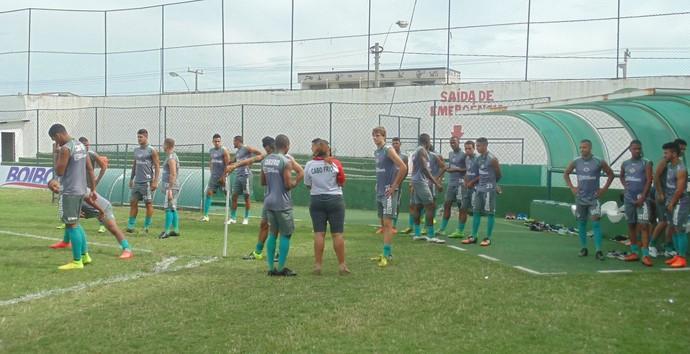 Apresentação da Cabofriense para o Carioca (Foto: Tébaro Schmidt/ GloboEsporte.com)