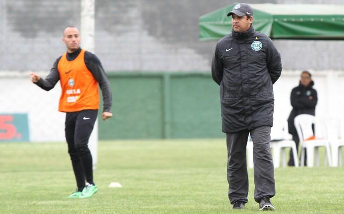 Marquinhos Santos e Martinuccio treino Coritiba (Foto: Divulgação Coritiba)