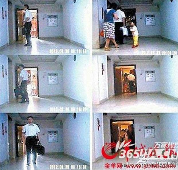 Deng Wengao foi filmado se encontrando com a amante, com quem teria outro filho (Foto: Reprodução)