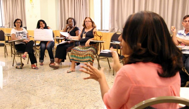 Professores do Autonomia em formação. (Foto: Emy Lobo)