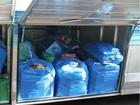 Polícia apreende quatro ônibus com mercadorias contrabandeadas no PR