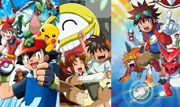 Pokémon, Monster Rancher e Digimon são alguns dos jogos do gênero (Foto: Reprodução/Felipe Vinha)