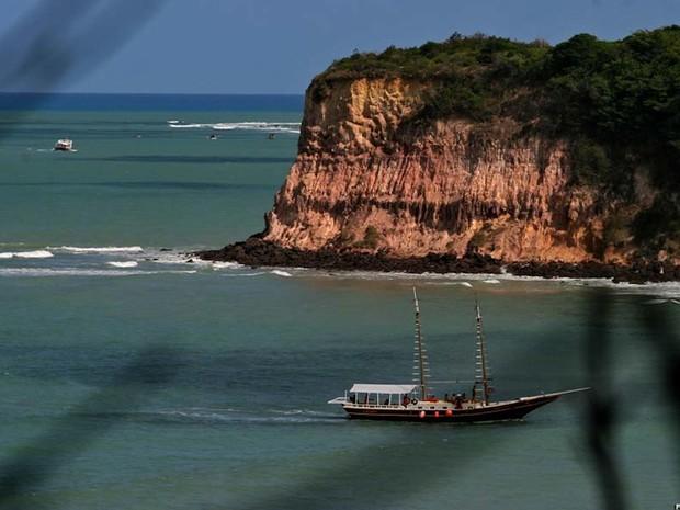 Praia de tabatinga, no litoral Sul do RN (Foto: Canindé Soares)