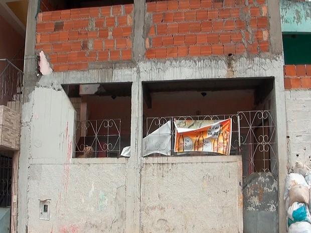 casa (Foto: Ivanildo Santos/TV Bahia)