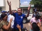 Waldez, do PDT, é eleito governador (John Pacheco/G1)