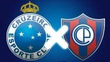 Cruzeiro x Cerro Porteno (Foto: Arte TV Liberal)