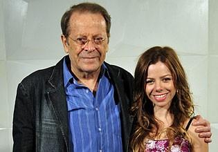 Carlos e Larissa Vereza vivem Francisco e Kátia (Foto: Amor Eterno Amor/TV Globo)