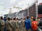 Estaleiro Rio Tietê inicia corte de aço para 1ª embarcação, diz Transpetro