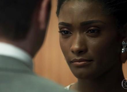 Raquel pressiona Bruno sobre situação com a esposa
