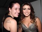 Fã faz tatuagem em homenagem a Paula Fernandes e exibe para cantora