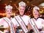 Realeza da 34ª Oktoberfest é eleita no encerramento da festa, em Blumenau