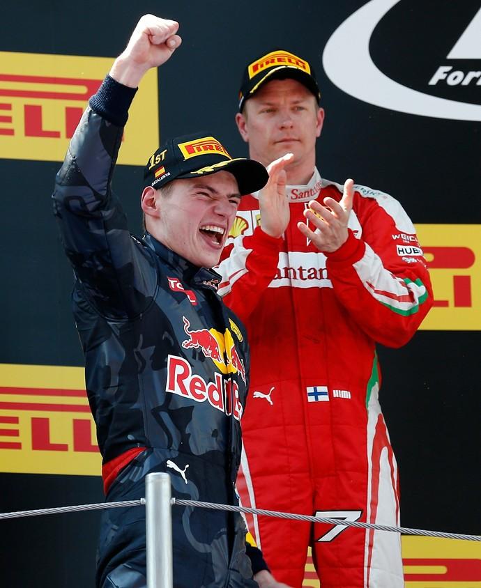 Aos 18 anos, Max Verstappen vence GP da Espanha e faz história na Fórmula 1 (Foto: AP)