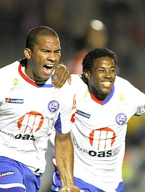 Jael gol Bahia (Foto: Ag. Estado)