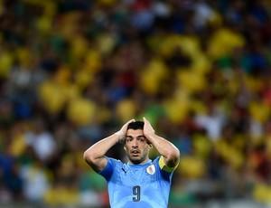Luis Suarez Uruguai Brasil (Foto: Getty Images)