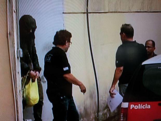 Sertanejo Hudson é transferido da carceragem da Seccional de Limeira para o CDP de Piracicaba (Foto: Reprodução/EPTV)