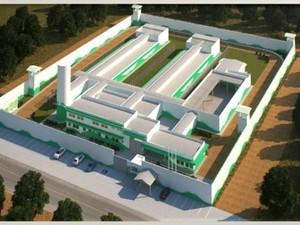 Projeto do sistema prisional de Bom Despacho (Foto: Prefeitura de Bom Despacho/Divulgação)