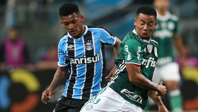 Grêmio x Palmeiras Gabriel Jesus (Foto: Cesar Greco/Ag Palmeiras/Divulgação)