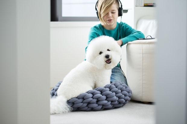Camas de tricô para animais de estimação (Foto:  )
