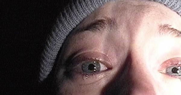 A cena clássica de A Bruxa de Blair (1999) (Foto: Reprodução)