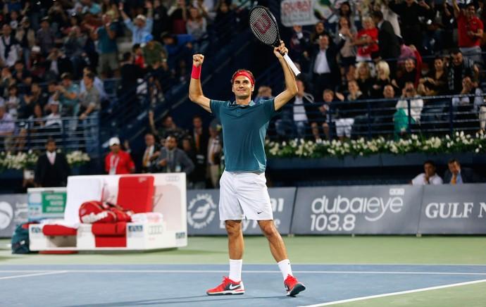 tênis Roger Federer atp de Dubai (Foto: Agência Reuters)