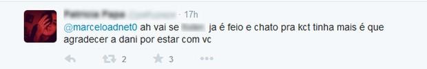 Comentários no Twitter do Marcelo Adnet (Foto: Reprodução/twitter)