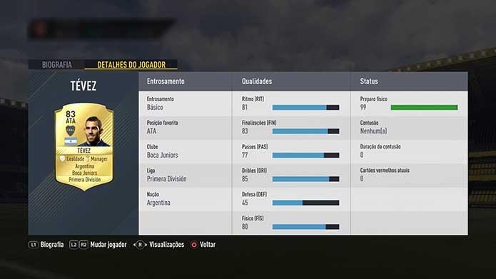 Fifa 17: lista traz 10 jogadores bons e baratos para contratar no Ultimate Team (Foto: Reprodução/Murilo Molina)