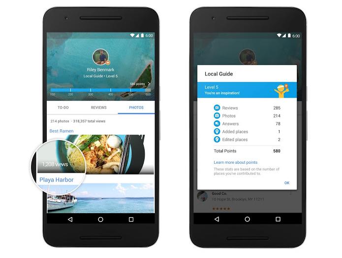 Google Maps recebeu update com recompensas para usuários (Foto: Divulgação/Google)