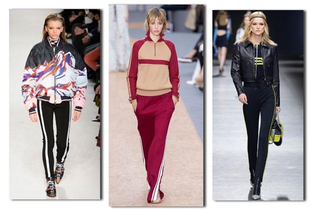Da esquerda para a direita: Pucci, Chloé e Versace (Foto: Imaxtree)