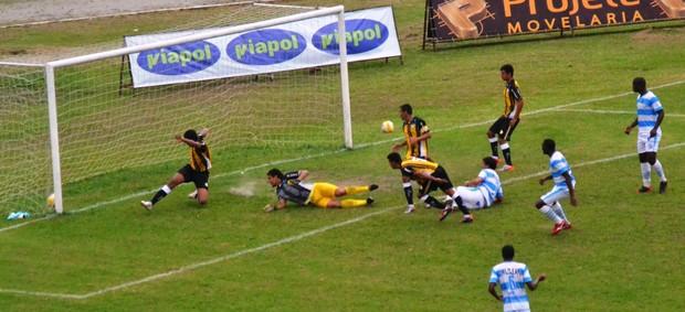 Gol Juan Taubaté x Joseense (Foto: Daniel Mello / CAJ)