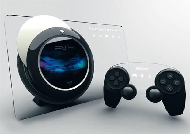 Artista cria versão fictícia do PlayStation 4. Este design é um dos mais famosos que circula na web (Foto: Reprodução)