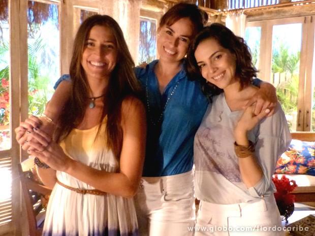 Na pele de Natália, Daniela tem duas filhas adultas e se descobre grávida do seu novo amor (Foto: Flor do Caribe / TV Globo)
