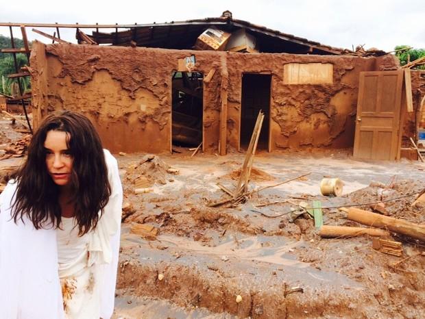 Lucélia Santos em Mariana (Foto: Divulgação)