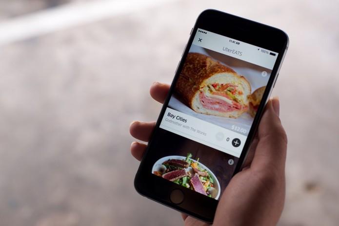 Como pedir comida pelo UberEATS (Foto: Divulgação/Uber)