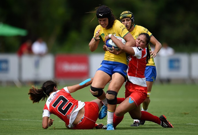 Juliana Santos Juca evento-teste rio 2016 rugby (Foto: Getty Images)