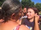 Comoção marca enterro da menina Ana Clara em cemitério de Goiânia