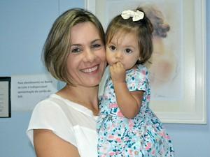Em sete meses, Luciana Rosseto doou 70 litros de leite materno (Foto: Juirana Nobres/ G1 ES)