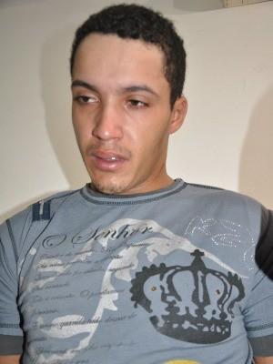 Thiago Henrique Ribeiro disse estar arrependido (Foto: Nadyenka Castro/ G1 MS)