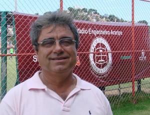 Pedro Soares, gerente de futebol da Desportiva Ferroviária (Foto: Bruno Marques/Globoesporte.com)