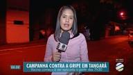 Campanha de vacinação contra a gripe em Tangará e Rondonópolis