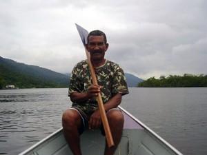 Pescador está desaparecido em Bertioga, SP (Foto: Orlando Victal/Arquivo Pessoal)