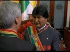 Dilma assiste à cerimônia de posse de Evo Morales, em La Paz