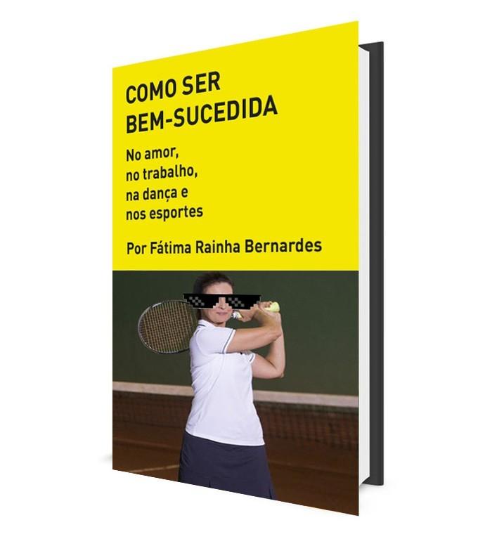 Livro de Fátima Bernardes é mais uma piada do Deu Show! (Foto: Gshow)