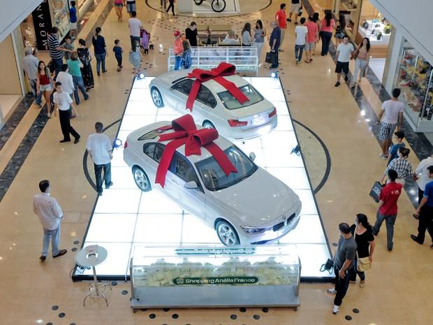 Shopping Anália Franco, na Zona Leste, vai sortear dois BMW 320i. (Foto: Divulgação)