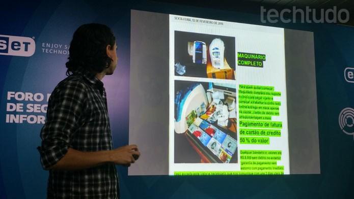 Clonagem e hack de cartões de crédito são alguns dos cursos disponíveis online (Foto: Melissa Cruz / TechTudo)