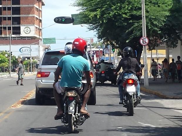 Furtos de moto aumentou em quase 200% em Petrolina (Foto: Emerson Rocha/GloboEsporte.com)