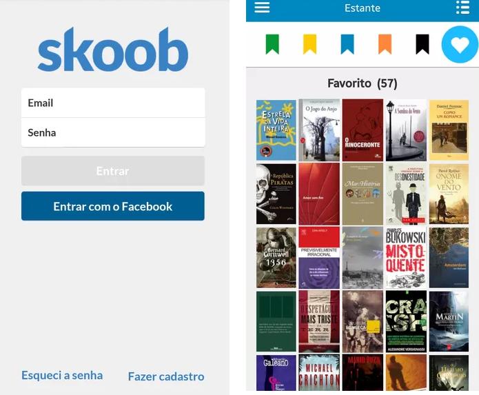 Crie uma estante virtual no Skoob (Reprodução/Daniel Ribeiro)
