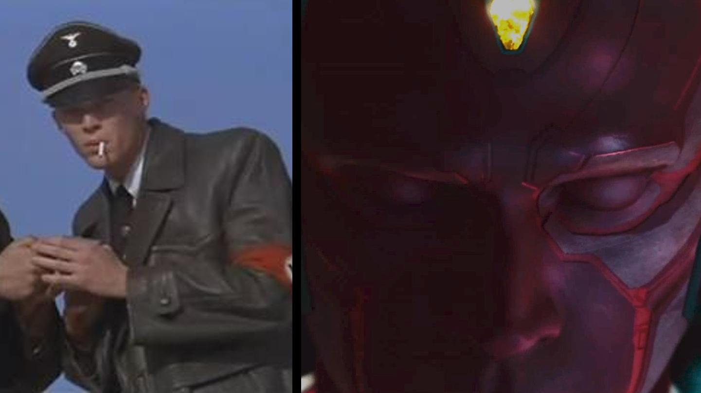 Paul Bettany e Visão (Foto: Divulgação)