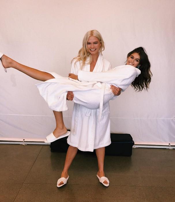Kaia e Karlie Kloss (Foto: Instagram/Reprodução)